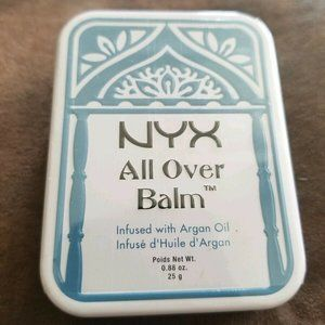 NYX All Over Balm AOB01 Argan Oil 0.88 oz/ 25g.